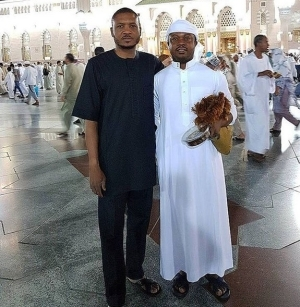 Quillox Boss, Shina Peller Shares Photo From The Holy City Of Medina